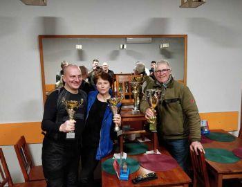 Międzykołowe zawody podlodowe Jezioro Śniardwy 2019